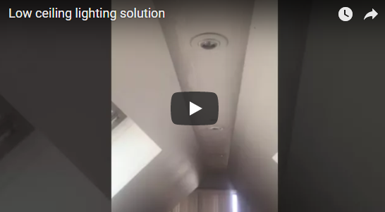 Low Ceiling Lighting Solution